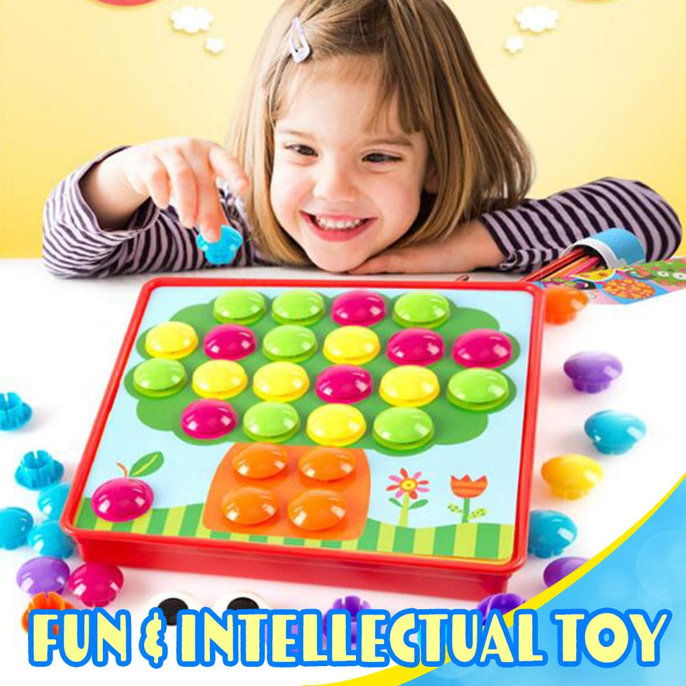 Button Nail Toy Kids DazzlingBreeze