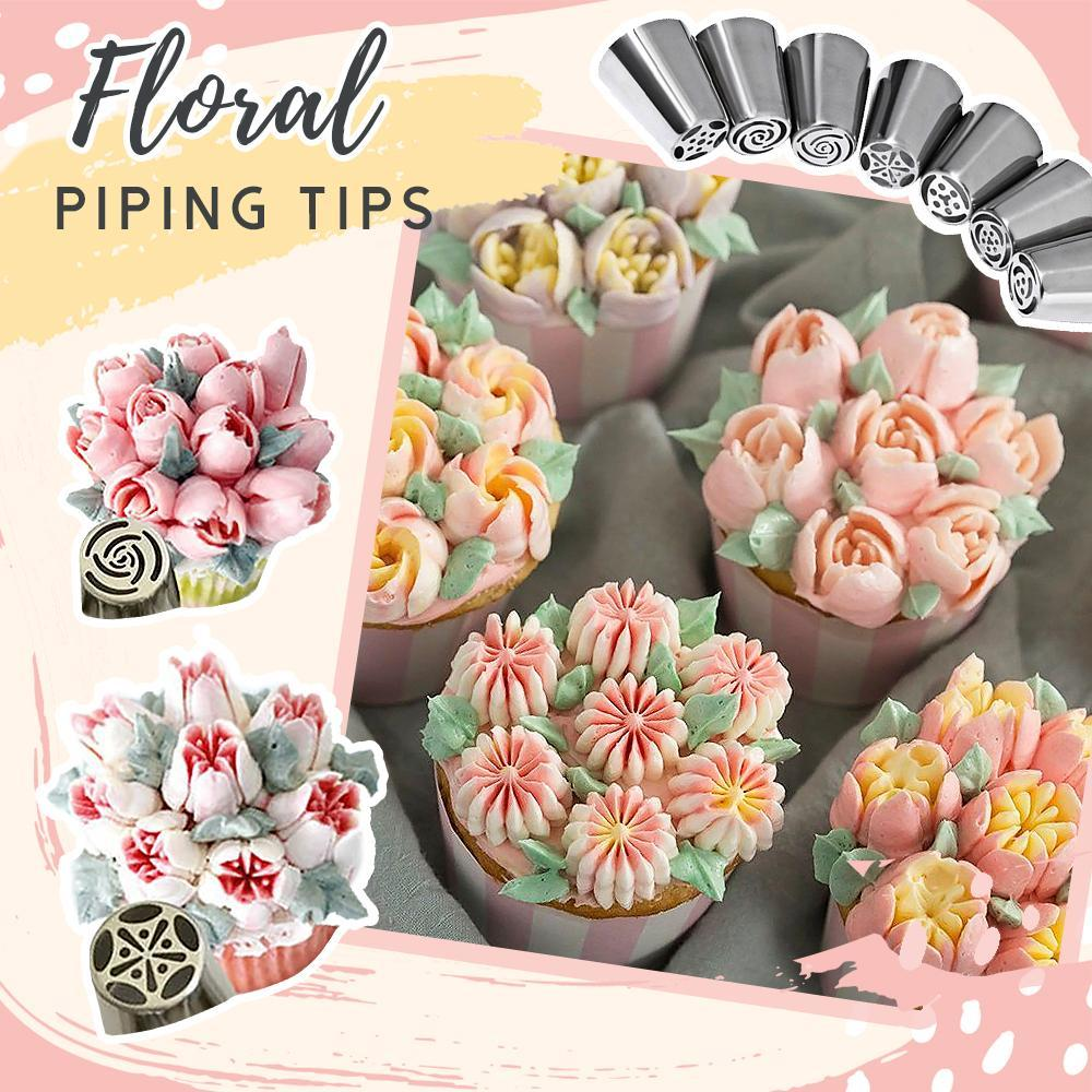 Cake Decor Piping Tips Kitchen starryhome