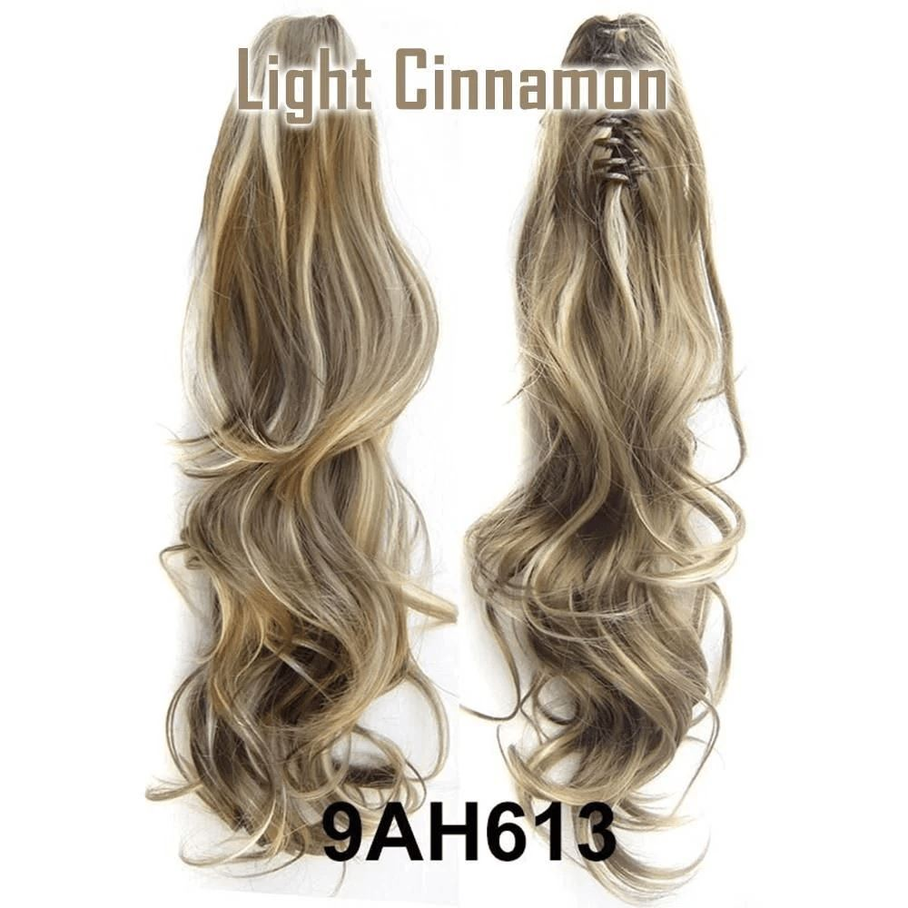 Claw-Clip Ponytail Extension Hair LuminousUnicorn