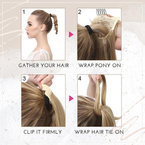 Clip-in Voluminous Ponytail Extension Hair starryhome