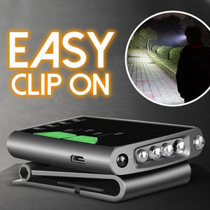 Clip-On Cap LED Light Outdoor DazzlingBreeze