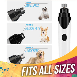 Cordless Pet Nail Grooming Tool Pets LuminousUnicorn