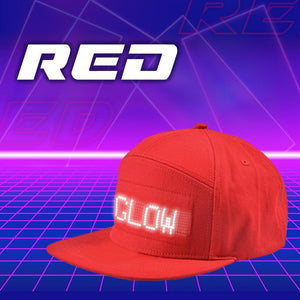 Customize LED Ball Cap Accessories DazzyCandy Red
