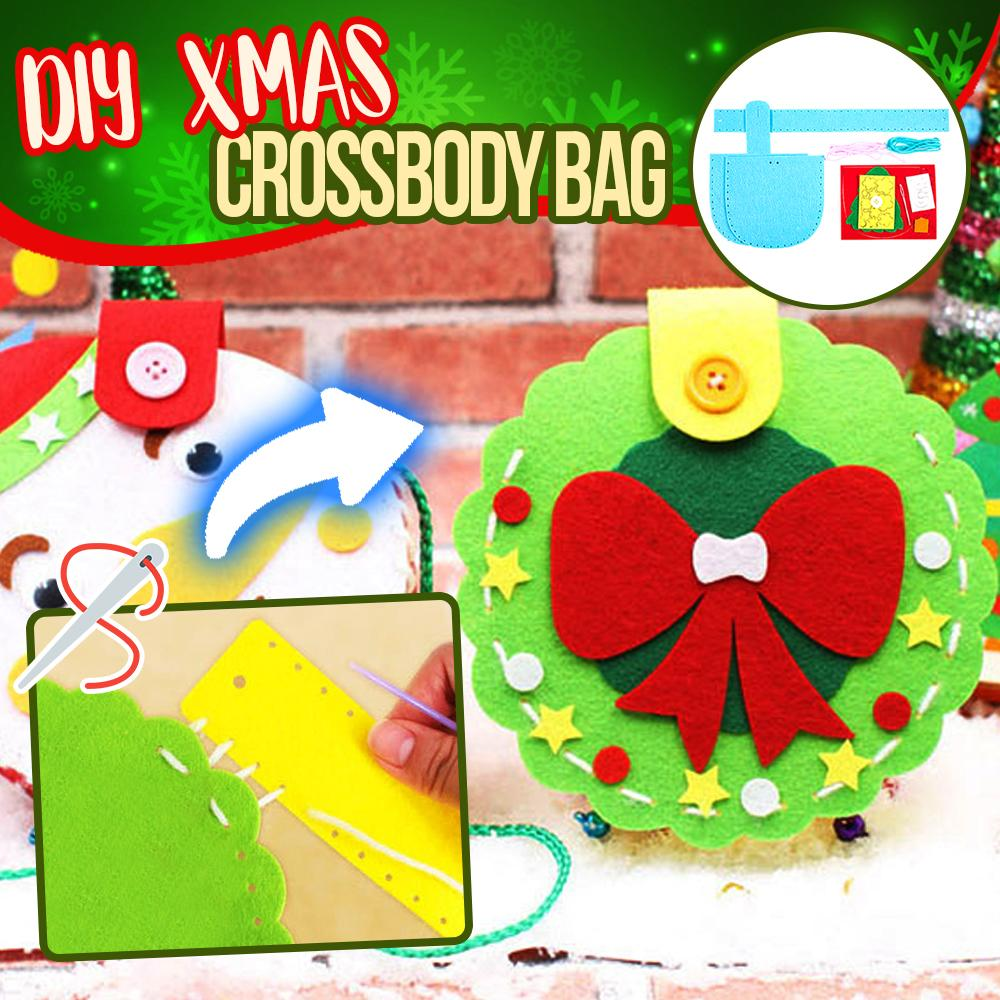 DIY Christmas Crossbody Bag bags DazzlingBreeze
