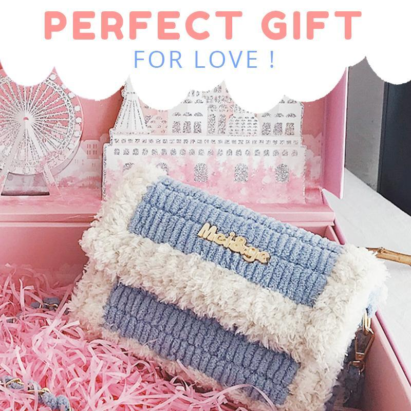 DIY Knitted Crossbody Bag Women starryhome