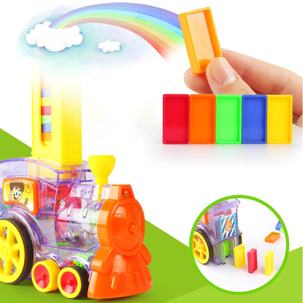 Domino Train toy Set Kids DazzlingBreeze