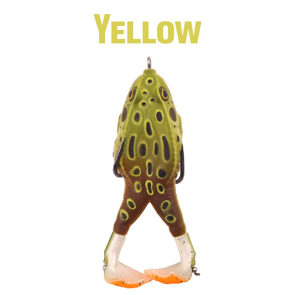 Double Propeller Prop Frog Bait Outdoor LuminousUnicorn