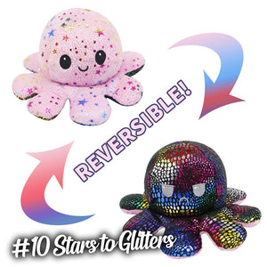Emotion Reversible Octopus Kids DazzlingBreeze #10 Stars to Glitters 1 PC