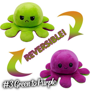 Emotion Reversible Octopus Kids DazzlingBreeze #3 Green to Purple 1 PC