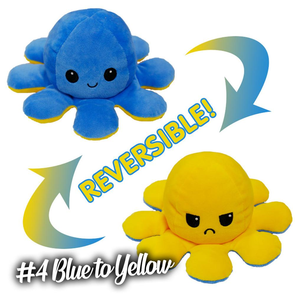 Emotion Reversible Octopus Kids DazzlingBreeze #4 Blue to Yellow 1 PC