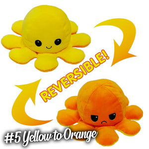 Emotion Reversible Octopus Kids DazzlingBreeze #5 Yellow to Orange 1 PC