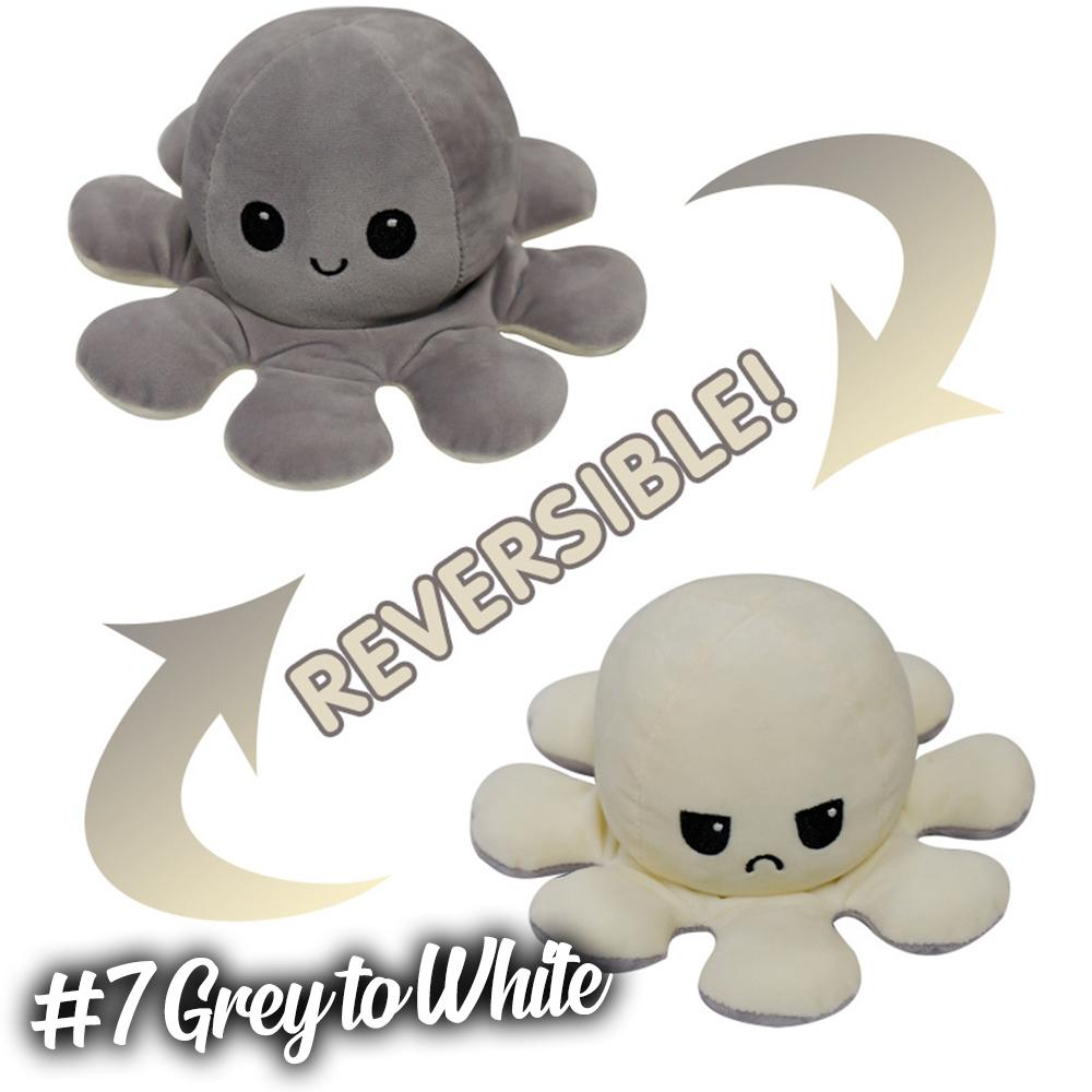 Emotion Reversible Octopus Kids DazzlingBreeze #7 Grey to White 1 PC