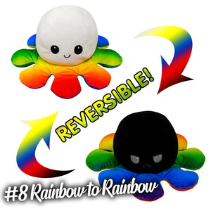 Emotion Reversible Octopus Kids DazzlingBreeze #8 Rainbow to Rainbow 1 PC