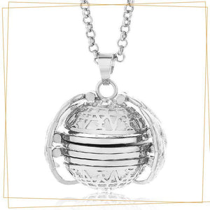 Expandable 4 Photo Locket Necklace Jewelry trillionwish Silver