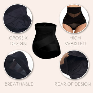 FitX™ Cross Waist Shaping Girdle intimate wear ladybethel