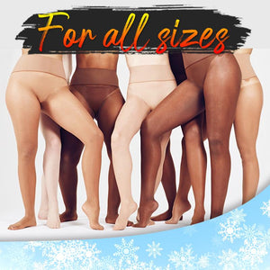 Flawless™ Winter Fake Translucent Fleece Pantyhose Intimate Wear DazzyCandy