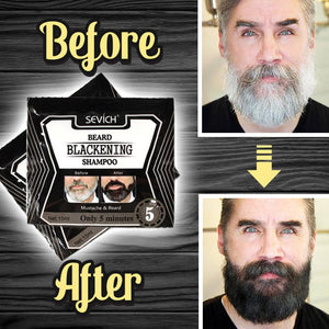 Herbal Beard Darkening Shampoo Hair DazzyCandy