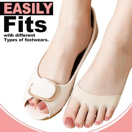 Honeycomb Fabric Forefoot Pads Footwear trillionwish