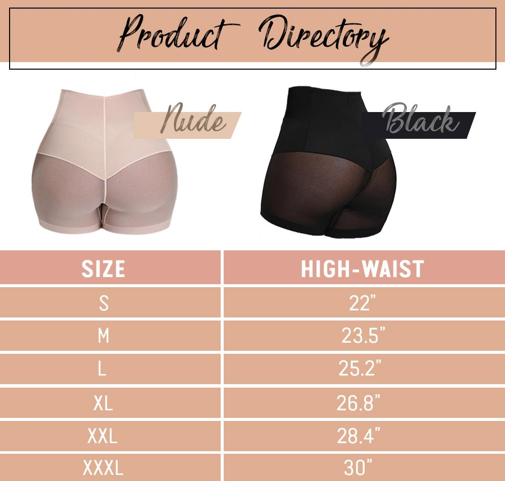 Hourglass High Waisted Tummy Shaper Shorts intimate wear StrongestGorilla