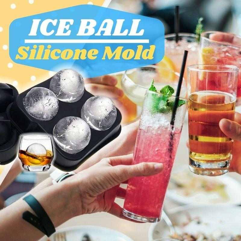 Ice Ball Silicone Mold Kids starryhome