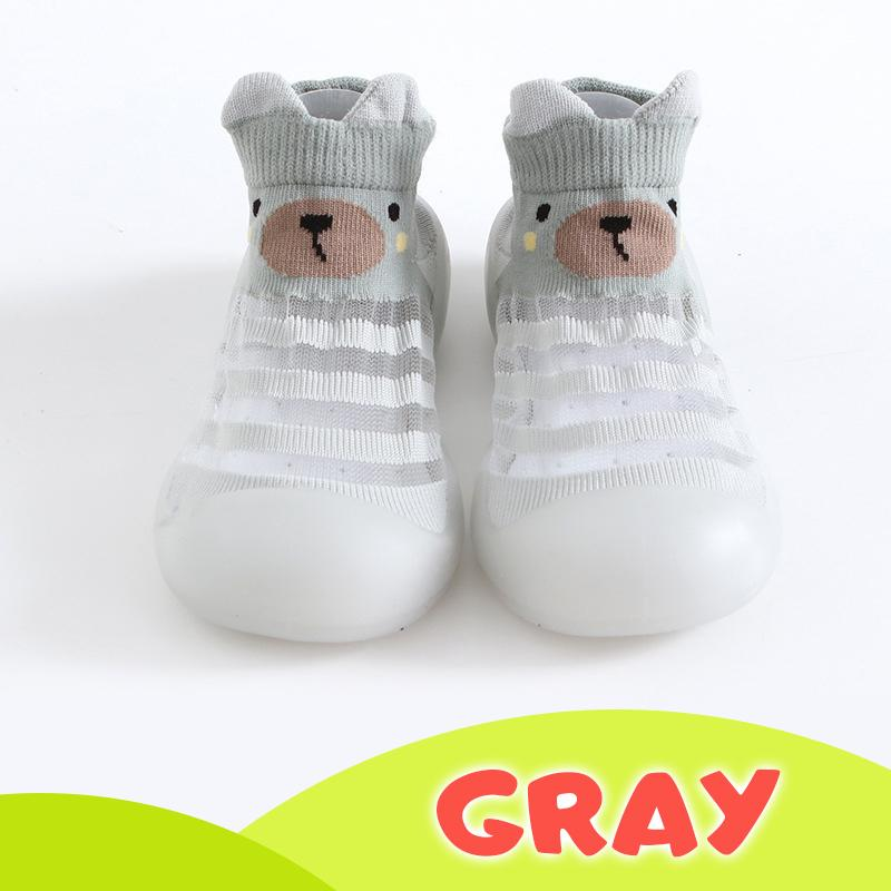 Ice silk Breathable Baby Shoes Kids BayfairConcept Gray US 3.5 (0 to 6 months)