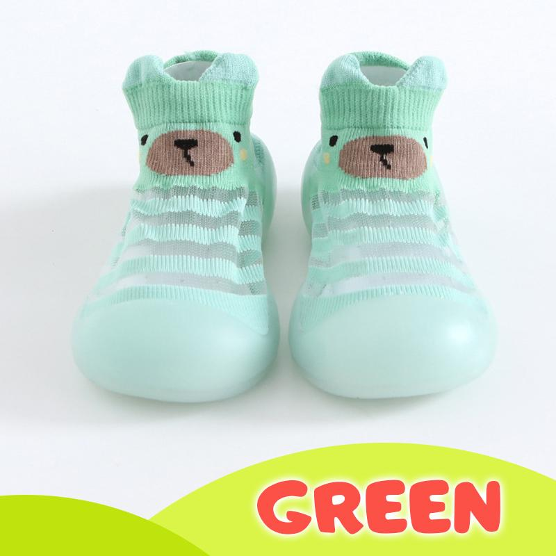 Ice silk Breathable Baby Shoes Kids BayfairConcept Green US 3.5 (0 to 6 months)