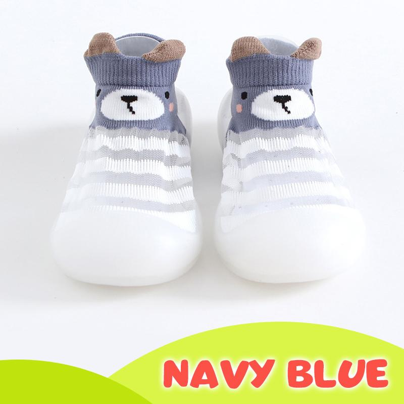Ice silk Breathable Baby Shoes Kids BayfairConcept Navy Blue US 3.5 (0 to 6 months)