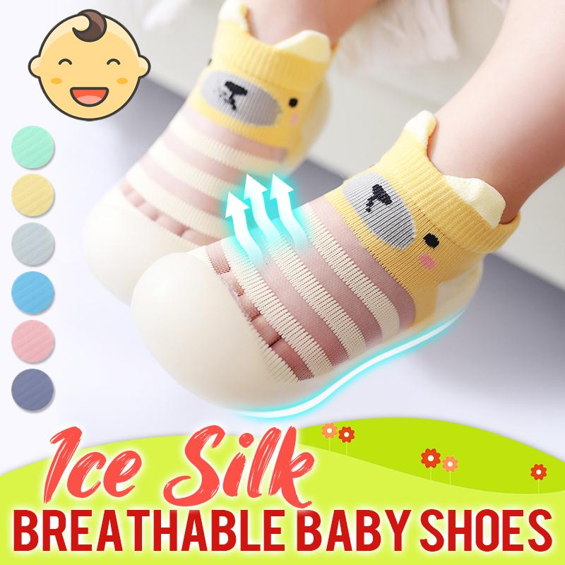 Ice silk Breathable Baby Shoes Kids BayfairConcept Yellow US 3.5 (0 to 6 months)