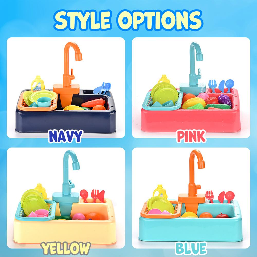Kitchen Sink Toy Kids DazzlingBreeze Navy