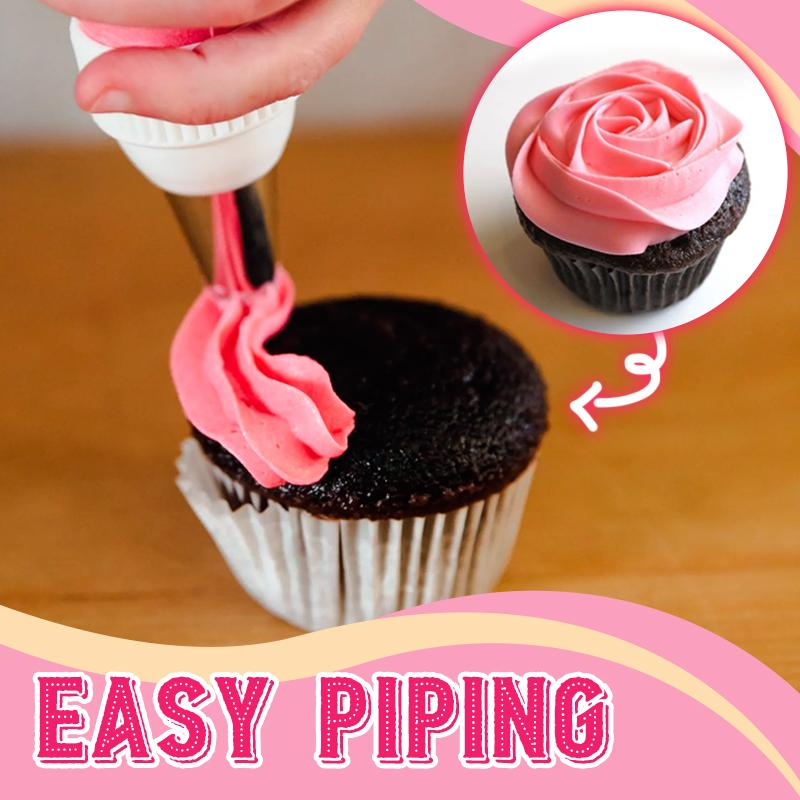 Large Size Rosette Icing Piping Nozzle (✨Set of 3 Styles) Kitchen DazzyCandy