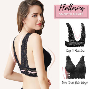 Low Cut Support Lace Bralette intimate wear starryhome