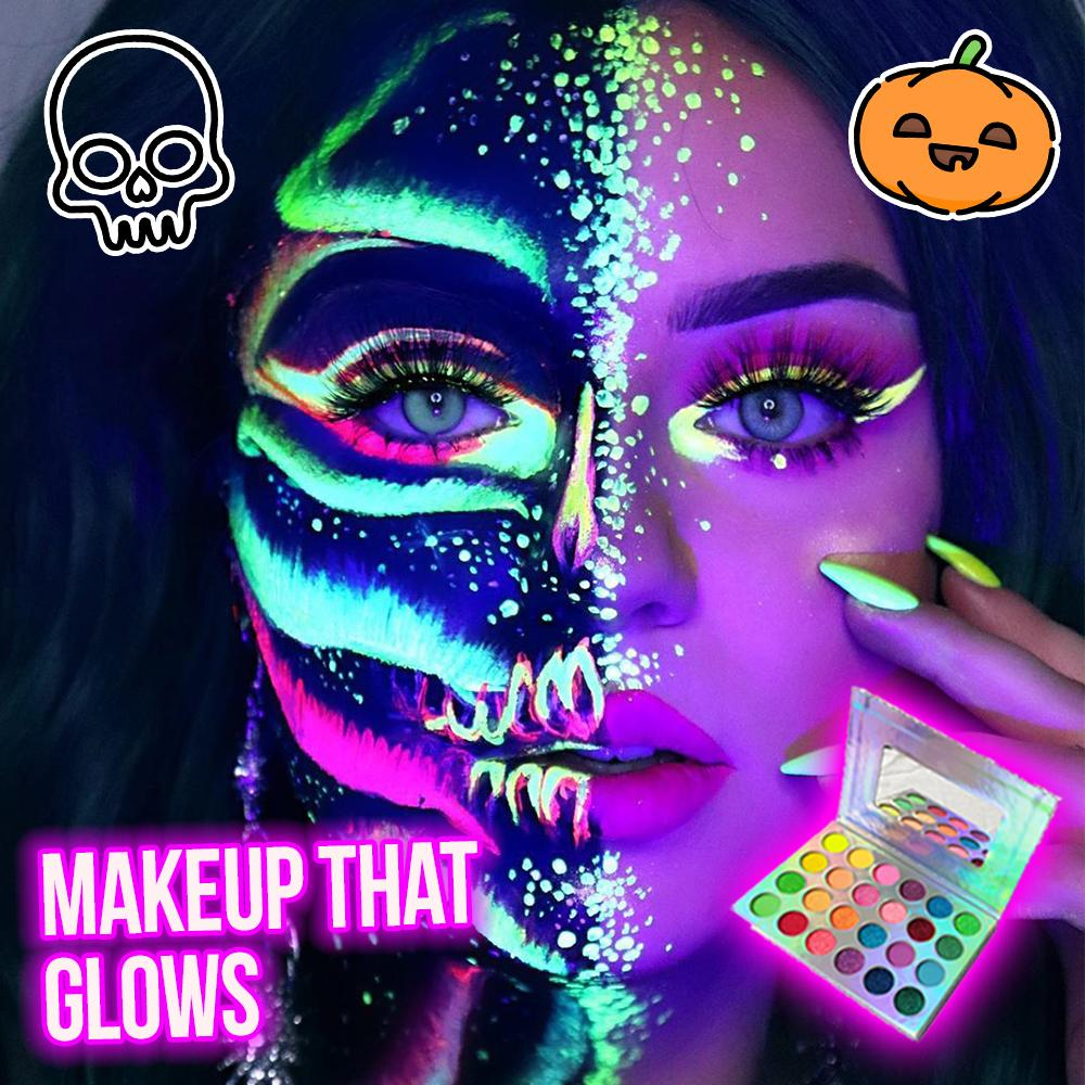 Neon Glow Makeup Palette Beauty DazzlingBreeze