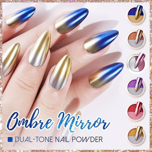 Ombre Mirror Chrome Nail Powder Nails starryhome