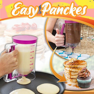 Pancake Batter Dispenser Kitchen LuminousUnicorn
