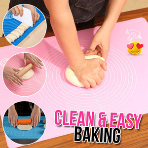 Pastry Baking Mat Kitchen LuminousUnicorn