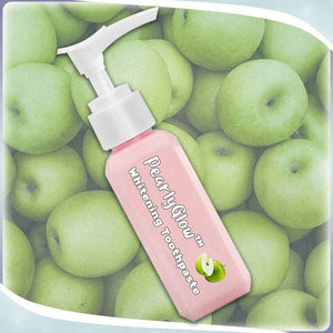 PearlyGlow™ Whitening Toothpaste Wellness trillionwish Apple 1 pc
