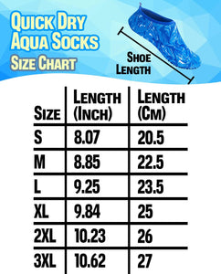 Quick Dry Aqua Socks Footwear LuminousUnicorn