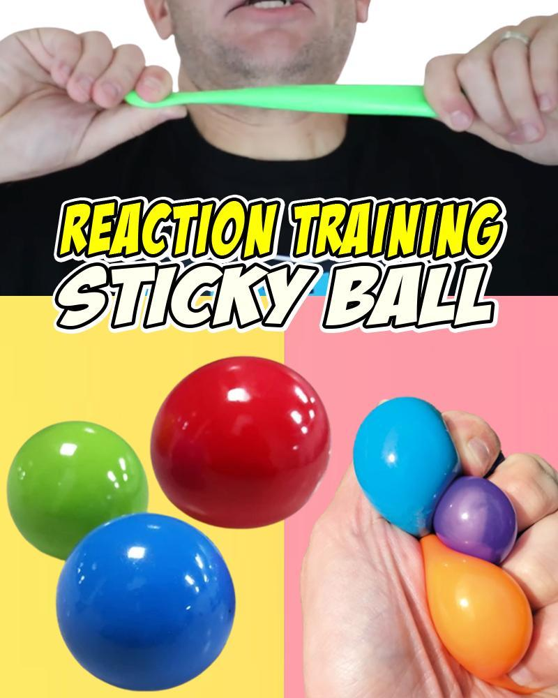 Reaction Training Sticky Ball Kids LuminousUnicorn