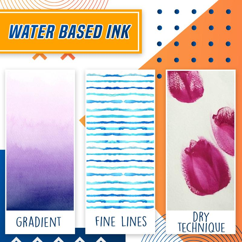 Real Watercolor Brush Pens Kids DazzyCandy