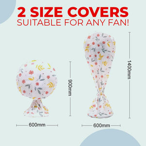 Round Electric Fan Dust Cover Home DazzyCandy