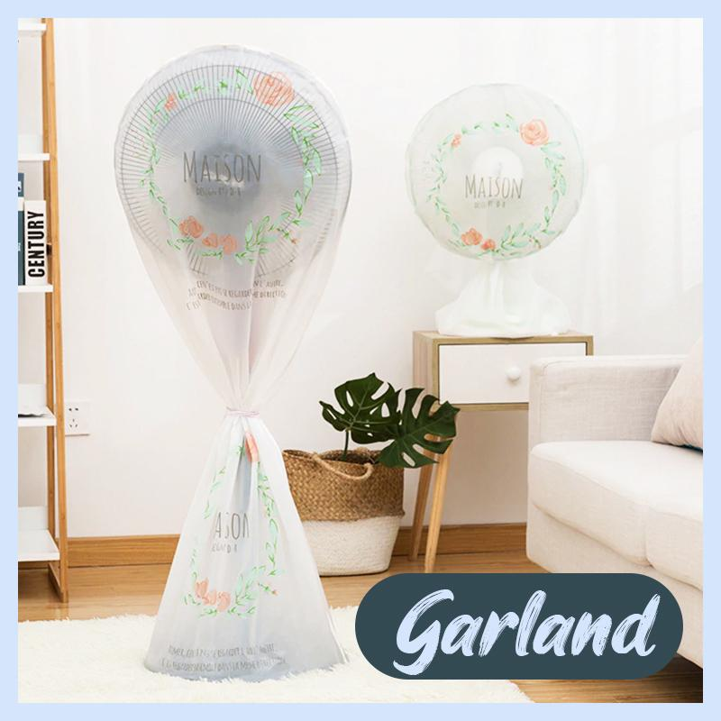 Round Electric Fan Dust Cover Home DazzyCandy Garland Short