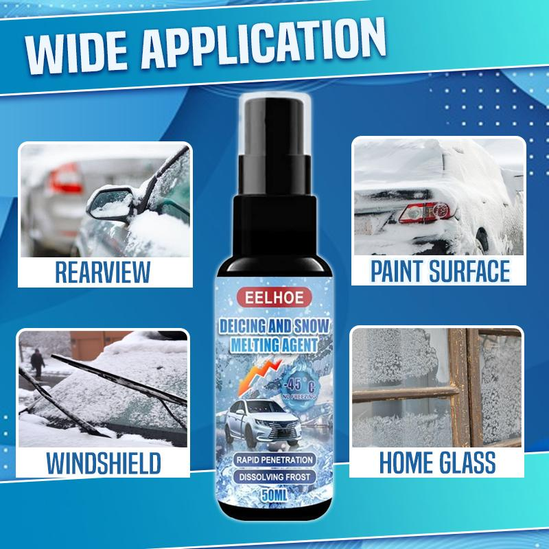 Scratch-Free Windshield Defrosting Agent Car DazzyCandy