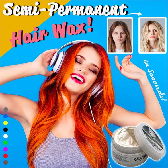 Semi-Permanent Hair Wax Hair starryhome