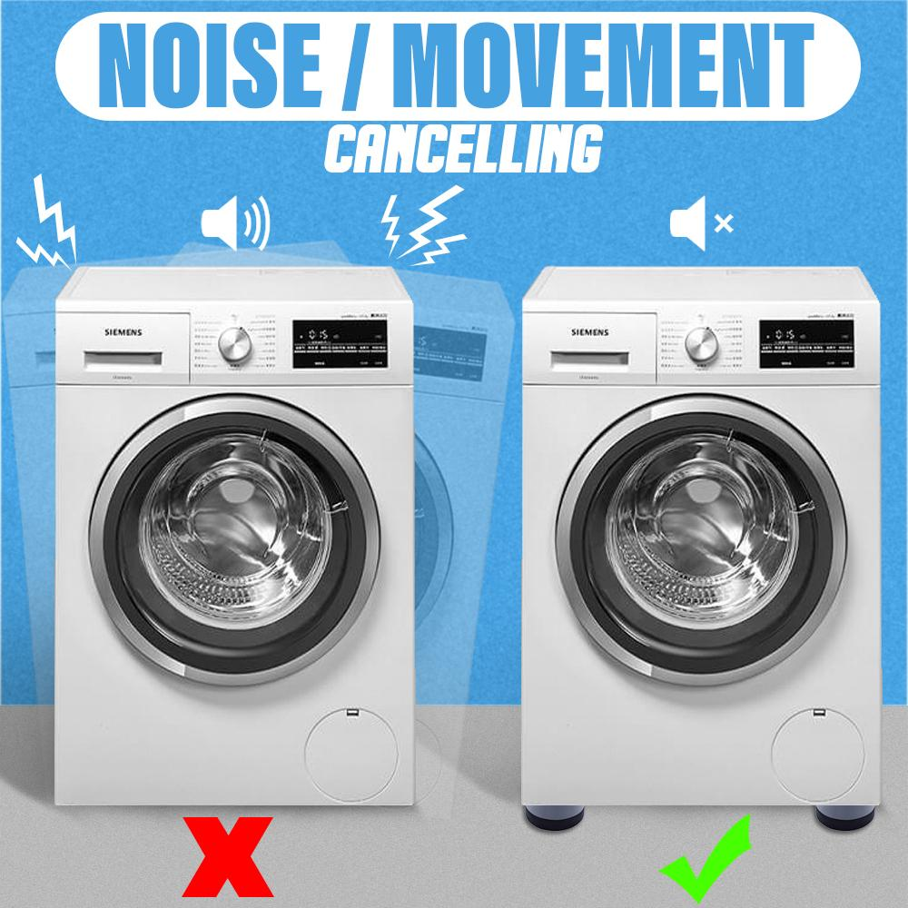 Shock And Noise Cancelling Washing Machine Support Lifestyle MadameFlora