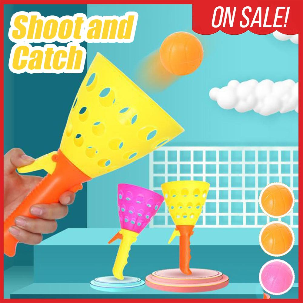 Shoot & Catch Ball Game Kids DazzlingBreeze