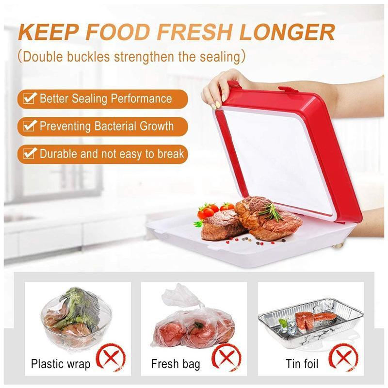 Stackable Food Preservation Tray Kitchen ladybethel