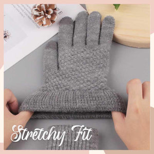 Thermal Touch Screen Knitted Gloves Kids starryhome