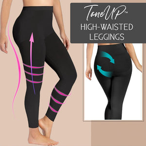 ToneUP™ High-Waisted Leggings Bottoms ladybethel