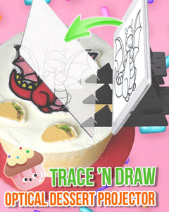 Trace'n Draw Optical Dessert Projector Kids ladybethel