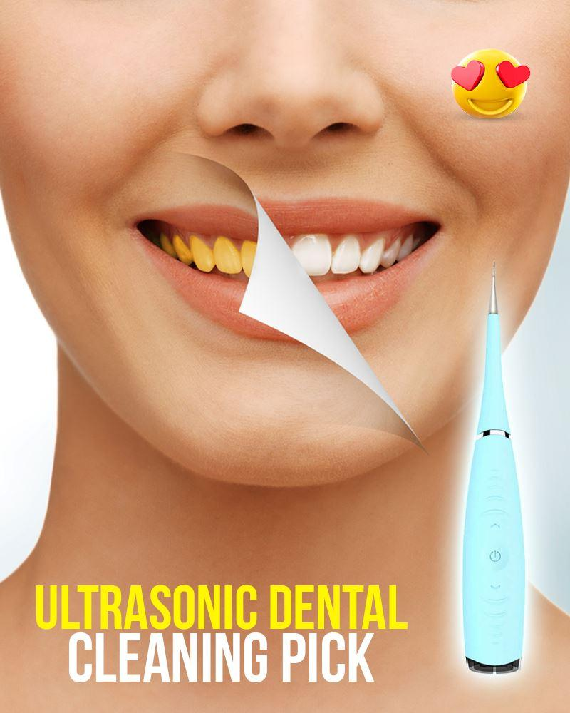 Ultrasonic Dental Cleaning Pick Wellness LuminousUnicorn